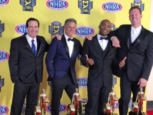 Brown, Capps, Line and Savoie honored as 2016 NHRA Mello Yello Drag Racing Series world champions in Hollywood