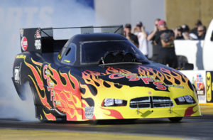 Campbell shares views from a Funny Car rookie