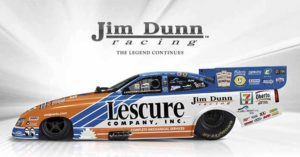 Lescure Company Backs Jim Dunn Racing