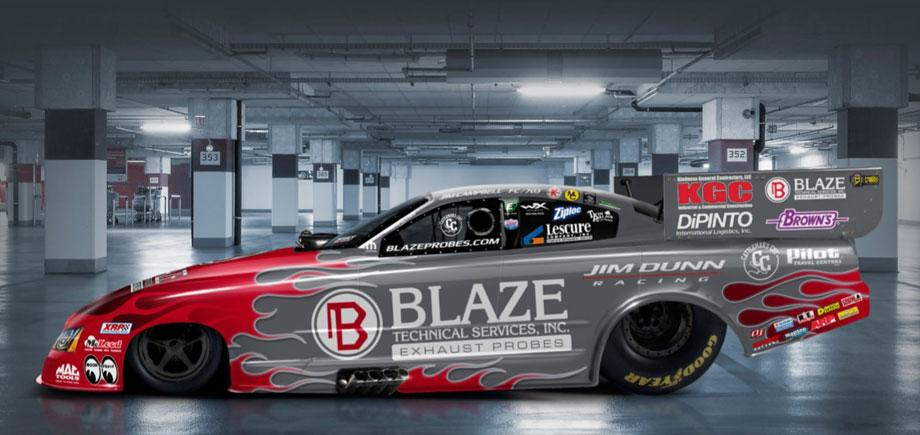 Blaze Exhaust Probes to fire up Jim Dunn Racing team at Bristol and
