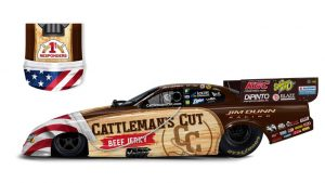 Cattleman's Cut will recognize health-care workers on Dunn Racing Funny Car
