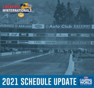 Read more about the article POMONA EVENT POSTPONED TO LATER DATE, RACING CONTINUES IN LAS VEGAS
