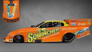 Read more about the article Sqwincher will again back Jim Dunn Racing Funny Car at Norwalk event