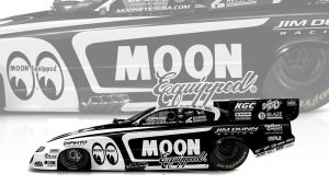 Read more about the article Jim Dunn Racing celebrates 30 years with Mooneyes at Winternationals